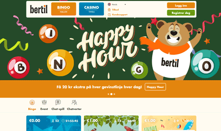 Bertil Bingo skjermbilde