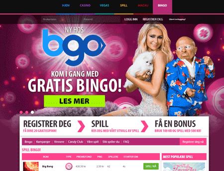 BGO Bingo skjermbilde