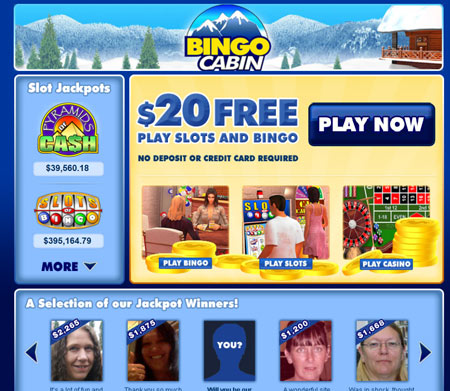 Bingo Cabin skjermbilde