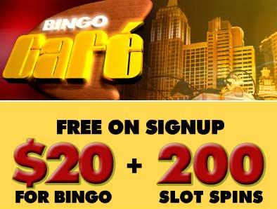 Bingo Cafe skjermbilde